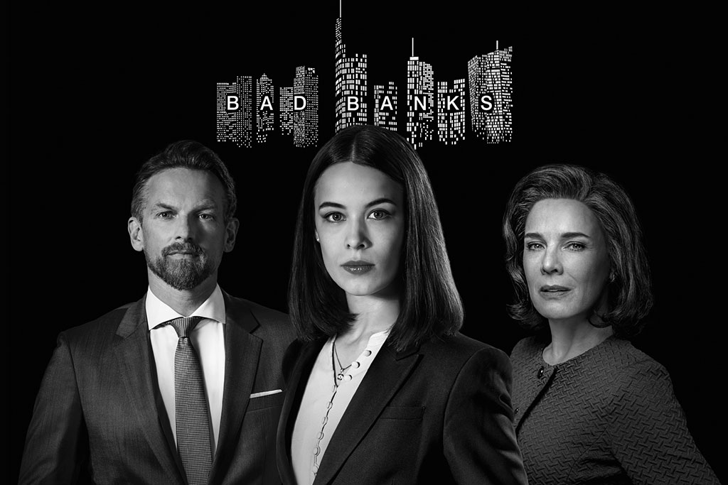 In der ZDFmediathek: Staffel 1 und Staffel 2: Bad Banks