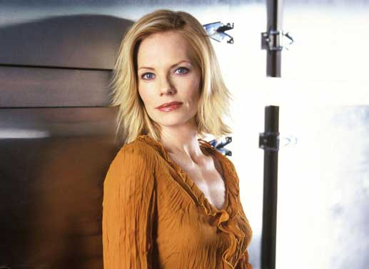 Marg Helgenberger (Catherine Willows). Bild: Sender